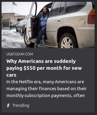 By USA Today. Photo is o' a stereotypical fat lower-class person getting out o' a big white SUV.