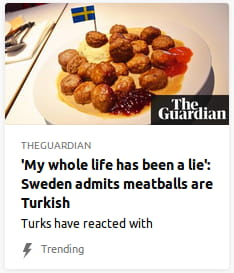 By the Guardian. Turks have reacted with