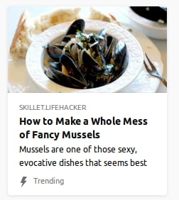 By Skillet.LifeHacker. Mussels are one of those sexy, evocative dishes that seems best